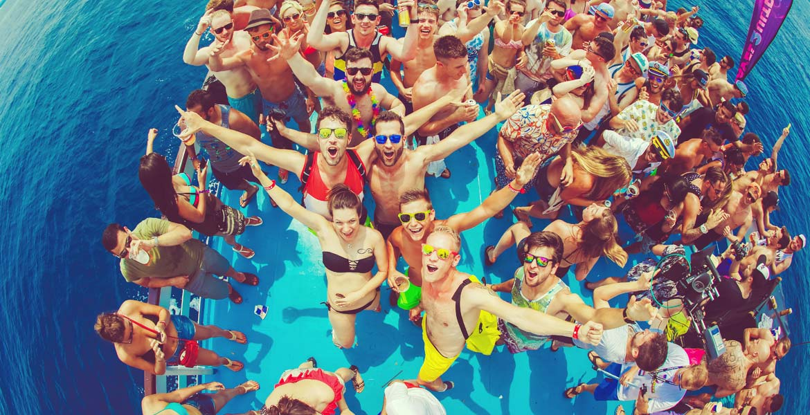 Ultra Europe Boat Party